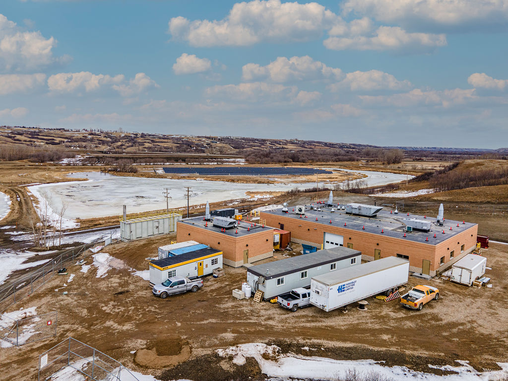 Lumsden Wastewater Treatment Plant